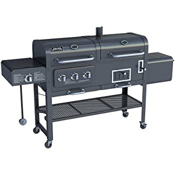 Amazon Com Smoke Hollow Sh7000 Gas Charcoal Smoker Grill