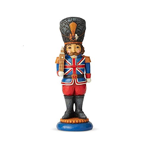 Enesco Jim Shore Heartwood Creek British Nutcracker Figurine