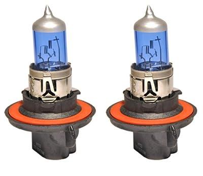 JDM H13 100W x2 pcs High Low Beam Xenon HID Direct Replacement Light Bulbs [Super
