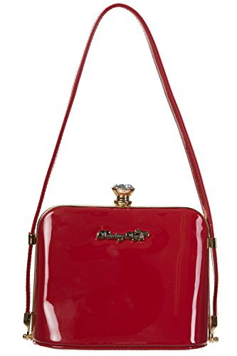 Dark Red Banned Apparel Handbag Red Blooms Dark Handbag Blooms Banned Apparel 10xqOaw