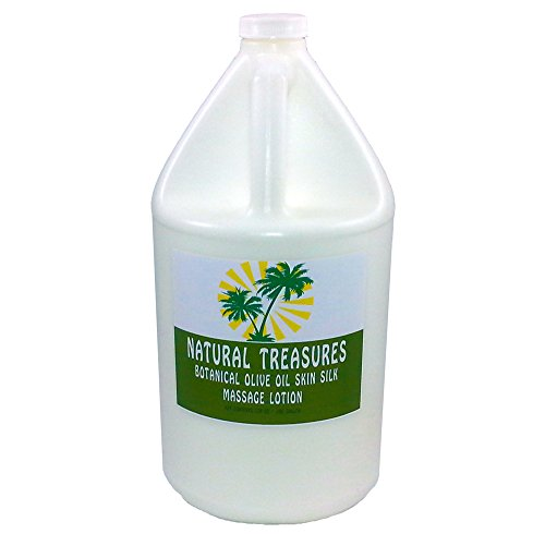 128oz-one-Gallon-Botanical-Olive-Oil-Skin-Silk-Massage-Lotion