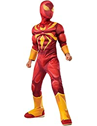 Rubies Costume Spider-Man Ultimate Deluxe Child Iron Spider Deluxe Child Costume, Large