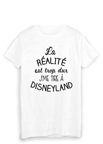 Tire 1885 Ref T Imprimé Je À shirt Me Disneyland wqCzxAU