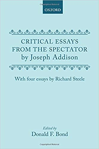 Amazon.com: Critical Essays from the Spectator by Joseph Addison ...