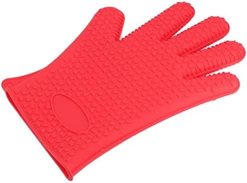 ounona resistente al calor guante de silicona para horno (manopla ...