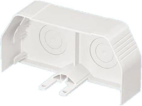Panduit TGECEI End Cap, 600 Voltage, Electric Ivory