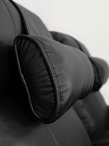 Octane Seating OCT BL Octane Black Leather Recliner Neck Pillow ()