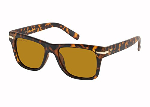 Eagle Eyes SWIFT Retro-Style Polarized Sunglasses, Tortoise