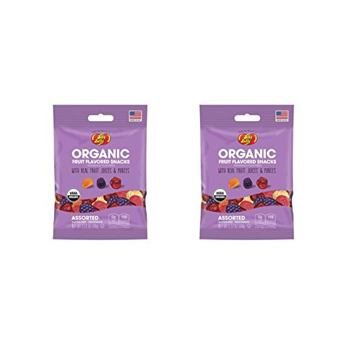 Jelly Belly Organic Fruit Snacks Gummies (Pack of - Honey Purple For Sale