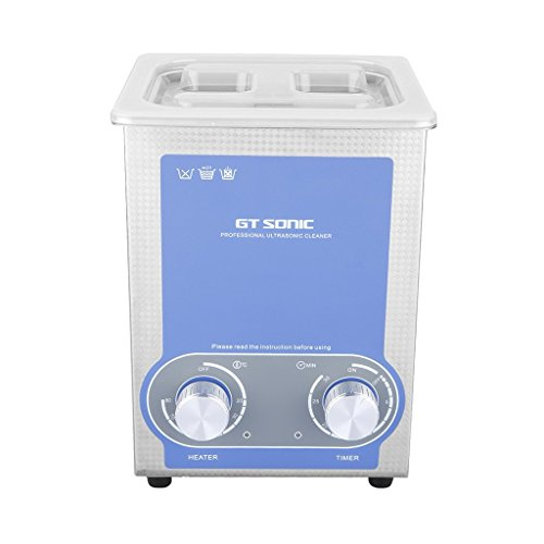 GT SONIC Newest 2L Ultrasonic Cleaner Heating Timer Heating Temperature...