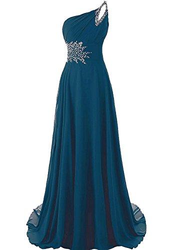 ink blue dress - 5