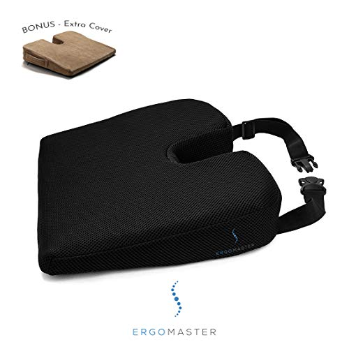 - Memory Foam Wedge seat Cushion by Ergo Master. Orthopedic
