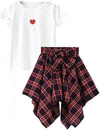 5f4e319eeb4a Cute Little Girls  2 Pieces Long Sleeve Top Pants Leggings Clothes Set  Outfit