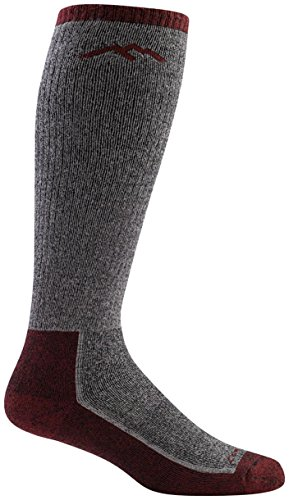 Darn Tough Merino Wool Mountaineering Extra Cushion Socks - Men's Smoke Medium