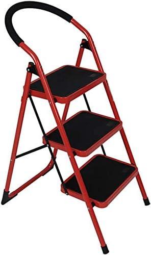 HOMRanger Taburete, Escalera de Mano Plegable, Taburete de Engrosamiento, Escalera mecánica Interior: Amazon.es: Hogar