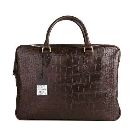 d9ef2e9301f0 Mulberry Bag Tony Briefcase Printed Leather Chocolate  Amazon.co.uk   Kitchen   Home