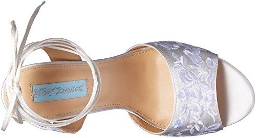 Blue Af Betsey Johnson Kvinders Sb-raine Kjole Sandal Elfenben Stof nm8bnEl
