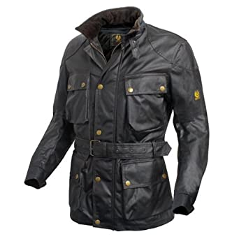 75b5f9c279 Belstaff Trialmaster Classic Tourist Trophy Wax Cotton Motorcycle Jacket,  medium: Amazon.co.uk: Clothing