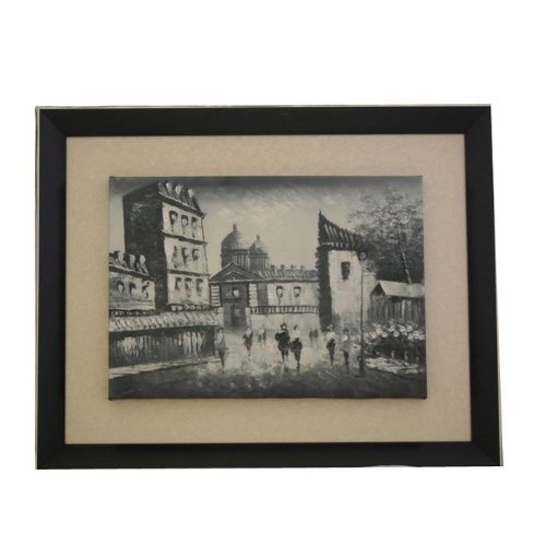(Wooden Framed Moscow Oil Painting Art F3181)