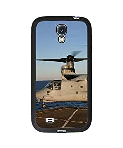 Cool V22 Osprey Samsung Galaxy S4 Plastic and TPU Durable Phone Case Cover(Laser Technology)