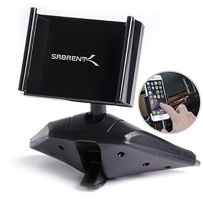 "Sabrent Universal Smartphone CD Slot Mount for 3.5"" - 5.5"" Smartphones (CM-CSCD)"