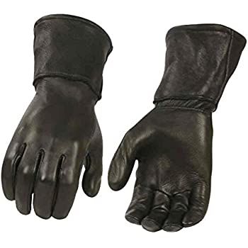 b461c7617 Milwaukee Leather Men's Deerskin Leather Thermal Gauntlet Gloves G317 (XL)