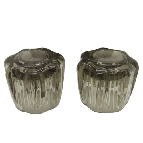 Dura Faucet DF-RKS RV Replacement Smoked Acrylic Knobs