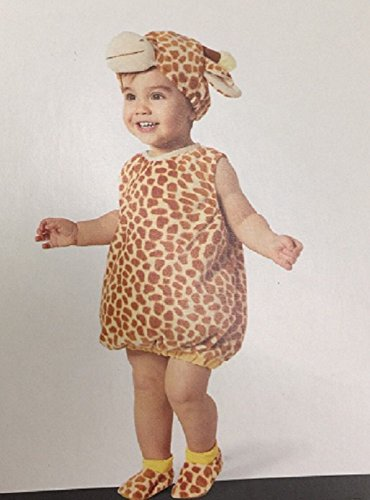 Plush Giraffe Vest Infant Costume (0-6 months)