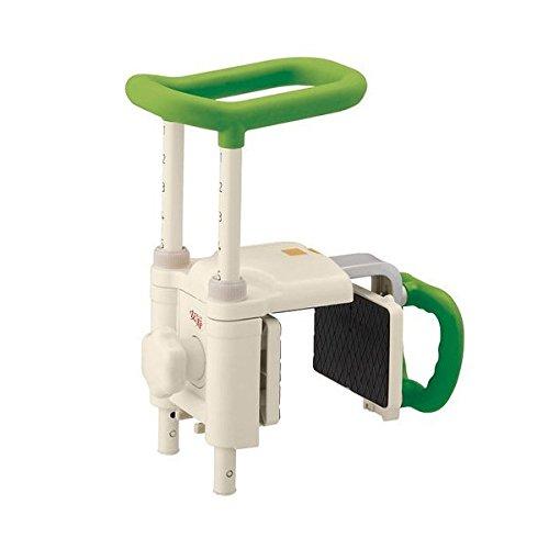 アロン化成 安寿 高さ調節付浴槽手すり UST-200N グリーン B01M330BK9