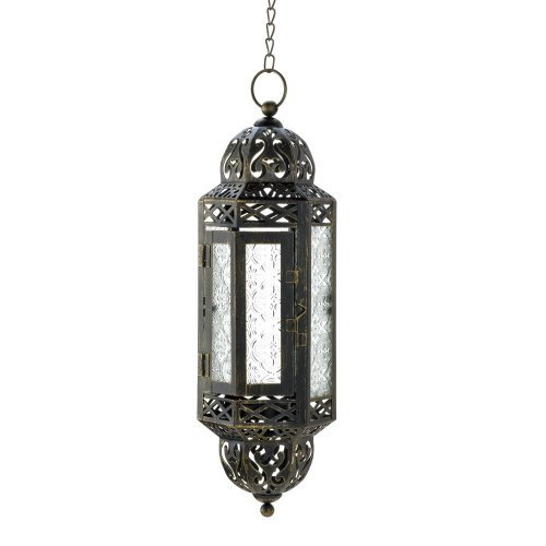(Intricate Hanging Moroccan Lantern - 1 Unit)