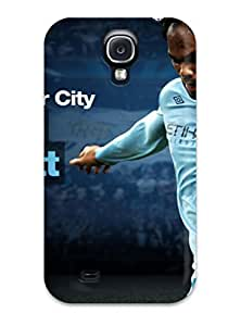 Durable Case For The Galaxy S4- Eco-friendly Retail Packaging(joleon Lescott Manchester City)