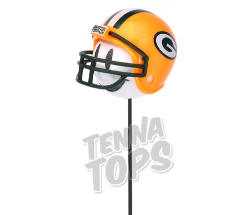 Pro Football Team Antenna Topper // Mirror Dangler//Desktop Spring Stand Bobble//Auto Accessory Giants Happy Face Antenna Ball