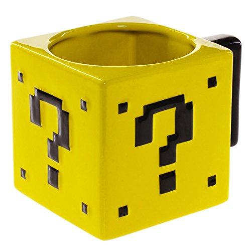 Price comparison product image Super Mario Bros. 17oz Ceramic Power-Up Mystery Box Mug