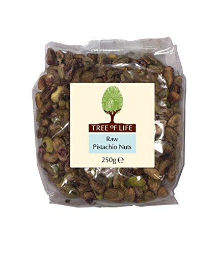 Tree Of Life Raw Pistachios 250 g (Pack of 2)