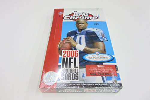 (2006 Topps Chrome Football Box (Hobby))