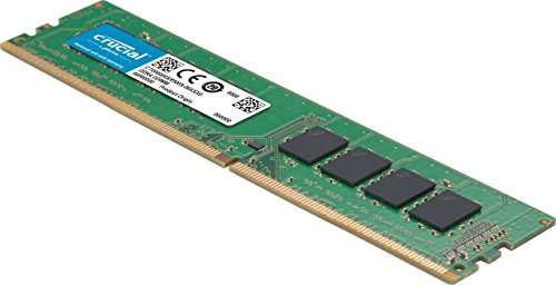 Crucial 16GB Single DDR4 2400 MT/s (PC4-19200) DR x8 DIMM 288-Pin Memory - CT16G4DFD824A by Crucial (Image #1)