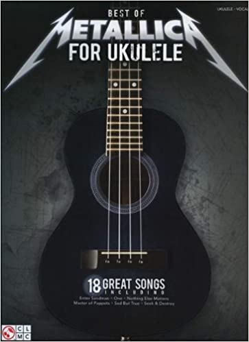 amazoncom best of metallica for ukulele ukulelevocal with tab 0884088664596 metallica steve gorenberg books - Metallica Christmas Songs
