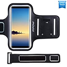 Galaxy Note8/Note9/S8Plus/S9Plus Armband, Mpow Gym Armband Sweatproof Multiple Layer (Supreme Lycra+Hot Pressing Technology) with Key Holder for Sony Moto Lumia HTC, 5.5inches