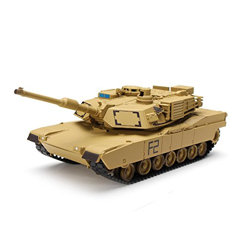New Heng Long No.8802 1/72 U.S. M1A2 ABRAMS Tank Model Collectible By KTOY (M1a2 Abrams Tank)