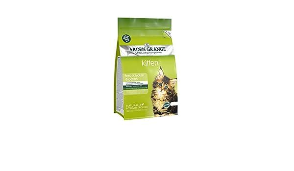 Amazon.com : Arden Grange Grain Free Kitten With Fresh Chicken & Potato 400g (pack Of 6) : Pet Supplies
