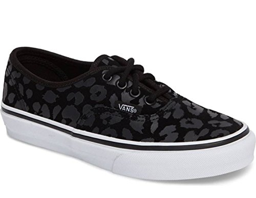 Vans Authentic (Leopard Suede) Black