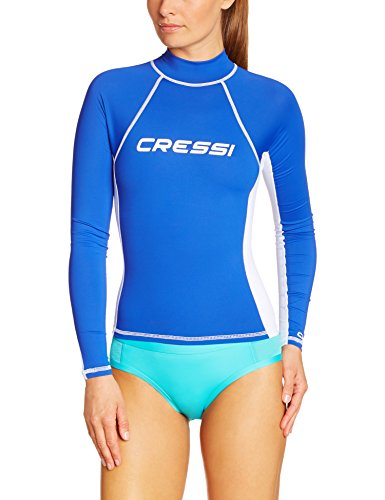 Cressi Damen Rash Guard UV Sun Protection (UPF) 50, Ärmel Lange