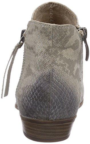 Tamaris 25303 - Botas de material sintético para mujer gris Schwarz (GREY SNAKE 220) 36 gris - Grau (Grey Snake 220)