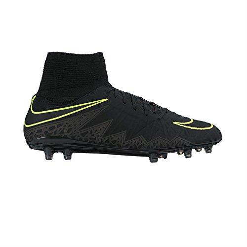 Nike Hommes Hypervenom Phatal Ii Chaussure De Football De Forme Dynamique Noir / Métallisé Hématite