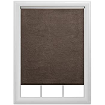 "Bali Blinds 6mil Decorative Roller Shade, 37 1/4 x72"", Chocolate"