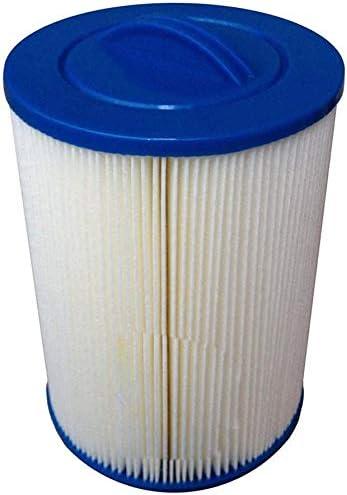 xiegons0 Piscina SPA Filtro Reemplaza, Agua Limpieza Piscina Filtro Reutilizable Plegable Anti Suciedad Impurity Eliminación - Blanco + Azul, Free Size: Amazon.es: Hogar