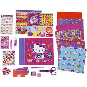 Hello Kitty All-in-one Scrapbook (Colors May Vary)