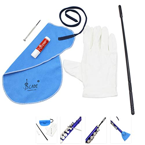 5PCS Flute Cleaning Kit Assorted Types Flute Care Kit Instrument Cleaning Tool