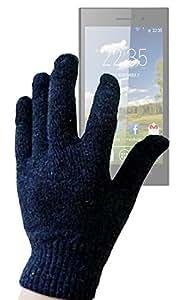DURAGADGET Guantes LCD De Alta Calidad Para Pantalla Táctil Para Sunstech Usun300 / 250 / 200 / 100- Tamaño Pequeño (S)