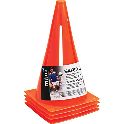 Mitre Safety Cones, Orange, (Driving Cones)